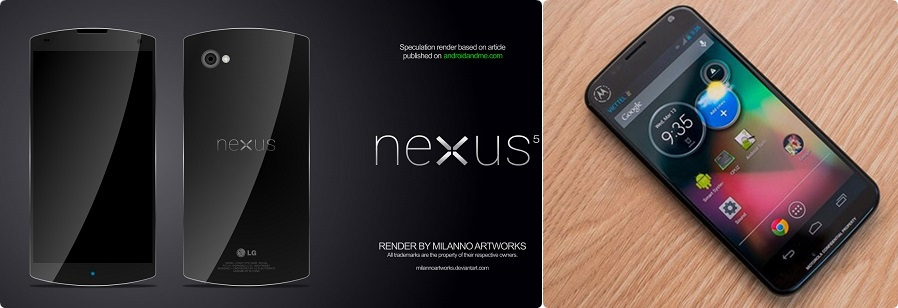 Google Nexus dhe Motorola X Phone