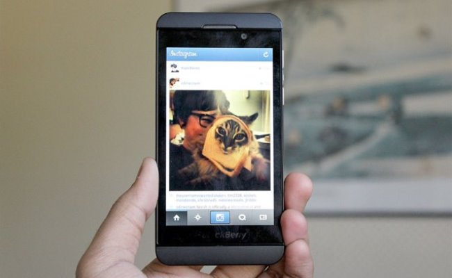 S'ka Instagram për Blackberry 10