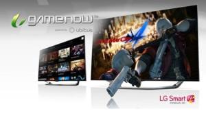 LG GameNow Smart TV