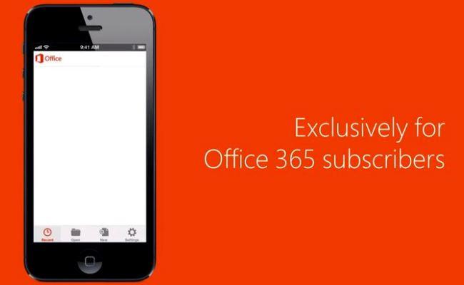 Microsoft Office Mobile tani edhe në pajisjet iOS