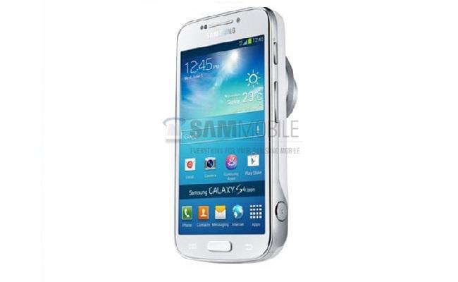 Shfaqen imazhe për modelin Galaxy S4 Zoom