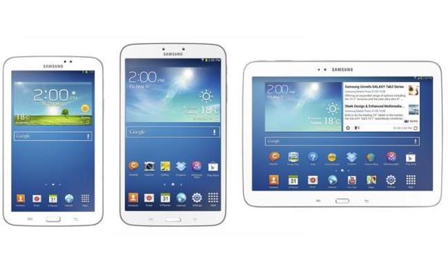 Samsung lanson Galaxy Tab 3 8 inç dhe Galaxy Tab 3 10.1 inç