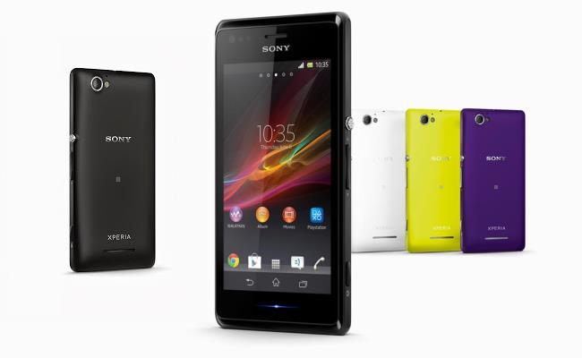 Lansohet Sony Xperia M