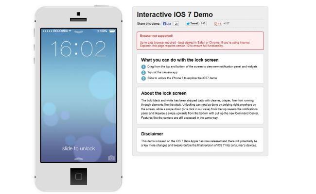 Testoni Apple iOS 7