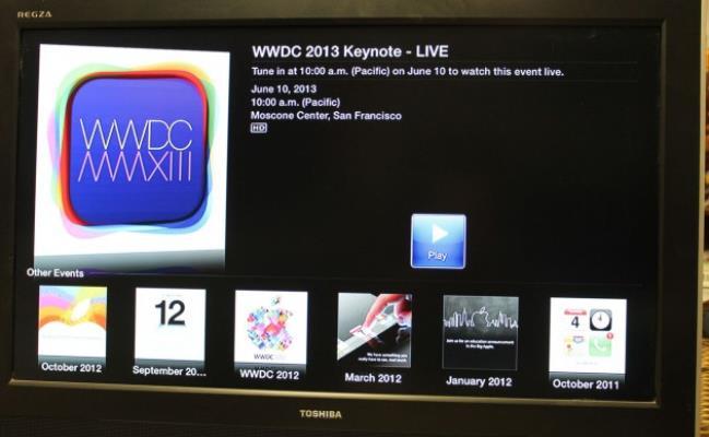 Drejtpërdrejt: Apple WWDC 2013