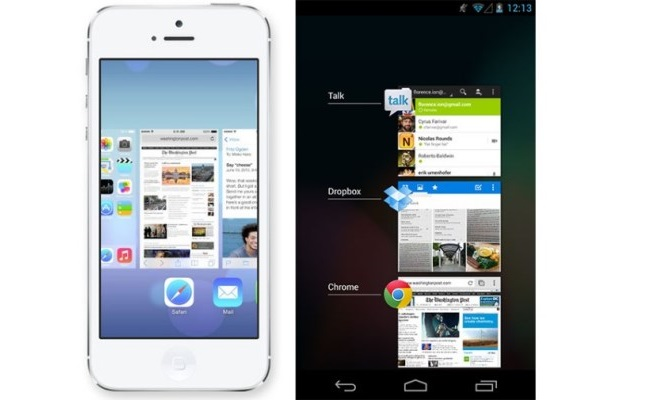 iOS7 vs Android1