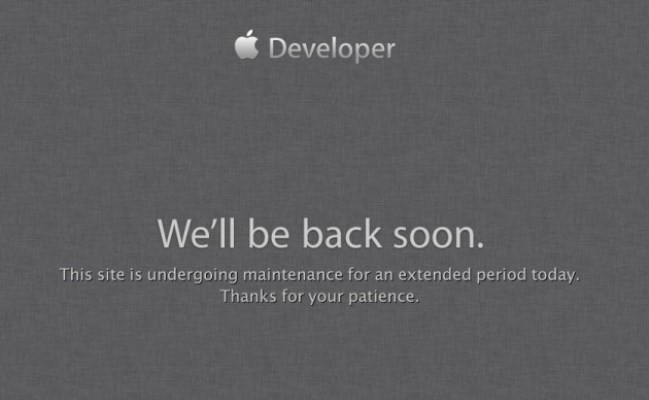 Apple Developer Website