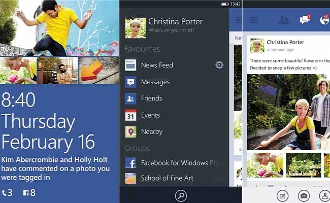 Lansohet aplikacioni Facebook 5.0 për Windows Phone 8