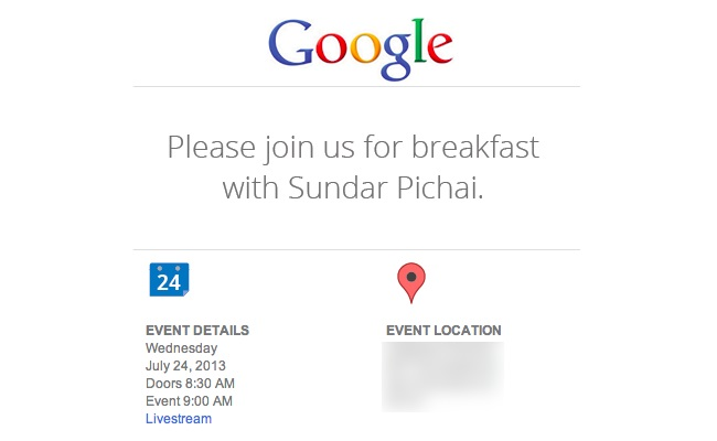 Google ka caktuar një ngjarje me 24 Korrik