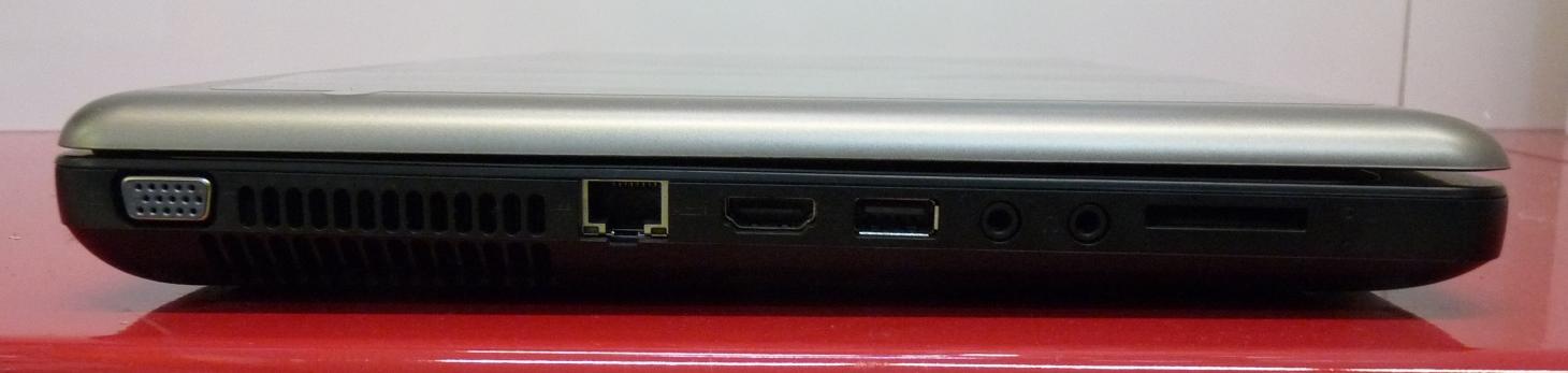 Laptop HP 630 - Portat dhe Lidhjet