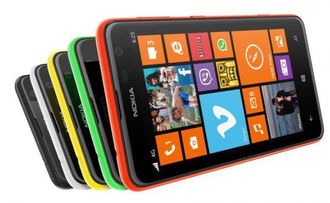 Prezantohet Nokia Lumia 625 i paralajmëruar