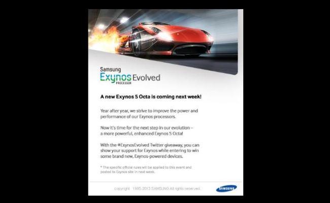 "Procesori i ri Samsung ""Exynos 5 Octa"" vjen javën e ardhshme"