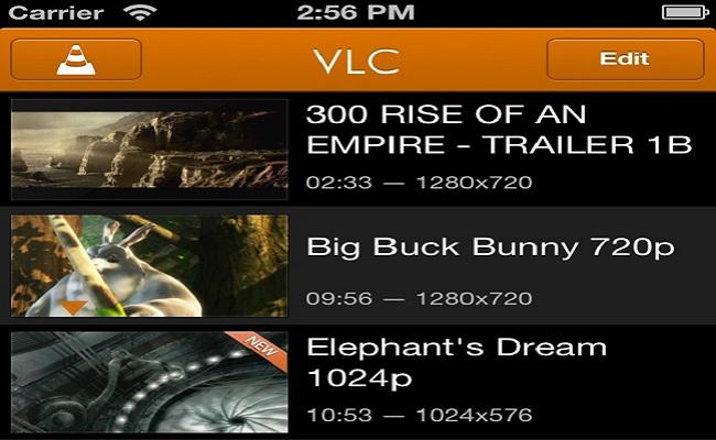 VLC për iOS me përplot risi