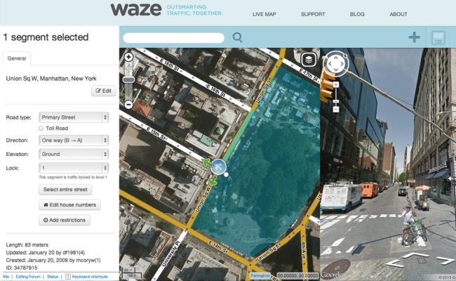 Waze integrohen në Google Maps