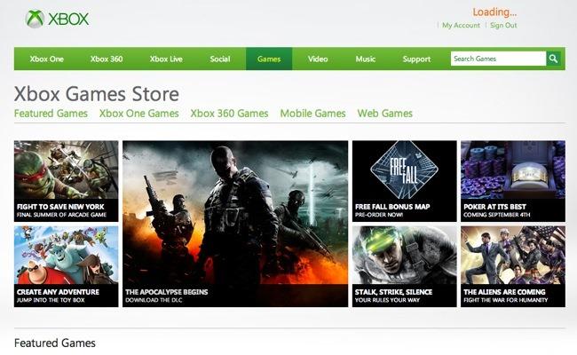 Riemërohet dyqani online Microsoft Xbox Live Marketplace