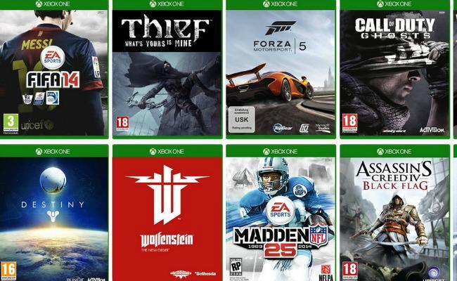 Xbox One lista e lojerave