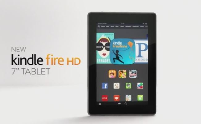 Amazon Kindle Fire HD i ri