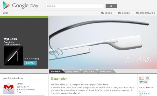 Google do të lansoj Glass AppStore nga viti 2014