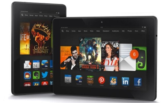 Amazon prezanton tablet të ri Kindle Fire HDX