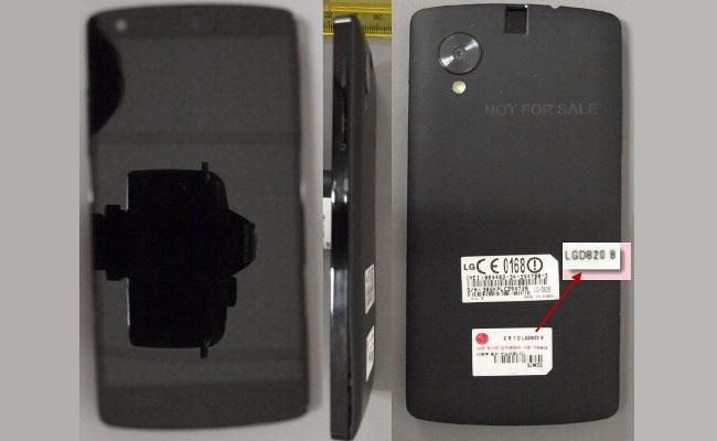 LG Nexus 5 FCC
