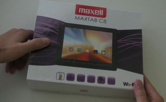 Video Prezantim: Maxell Maxtab C8