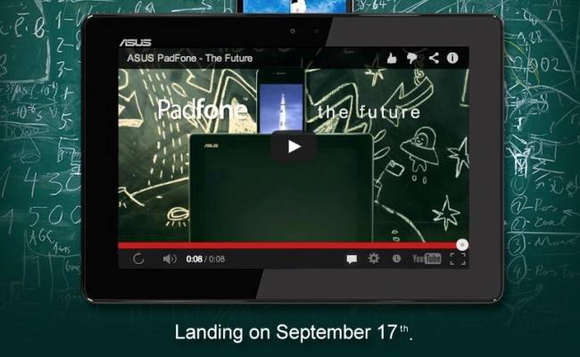 ASUS PadFone Infinity i ri lansohet me 17 Shtator