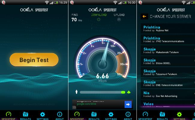 Speedtest 3.0 Android