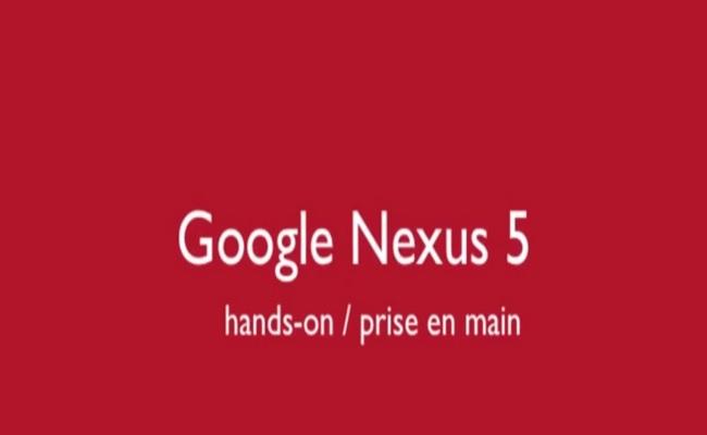 Nexus 5 dhe Android 4.4 shfaqen në një video