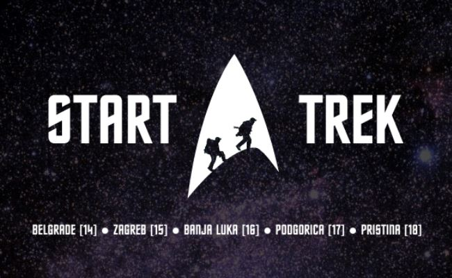 Start Trek 2013 – turneu Ballkanik