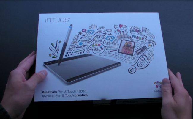 Video Shpaketim: Tableti Wacom Intuos Small Creative Pen & Touch