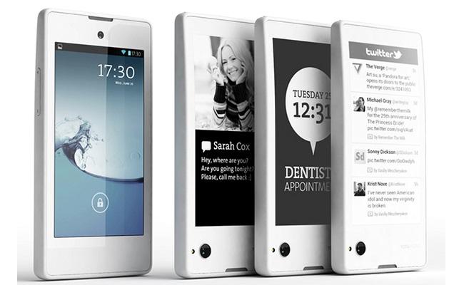 YotaPhone me dy ekrane, së shpejti në treg
