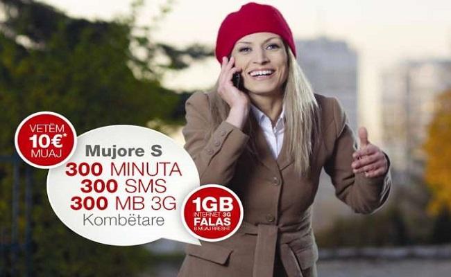 IPKO lanson pakot e reja mujore me minuta dhe sms kombëtar, si dhe bonus internet 3G