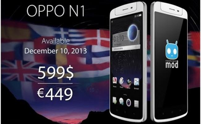 Oppo paralajmëron daljen në treg të smartphone-it N1