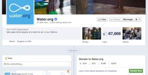 Waterdotorg Donate now