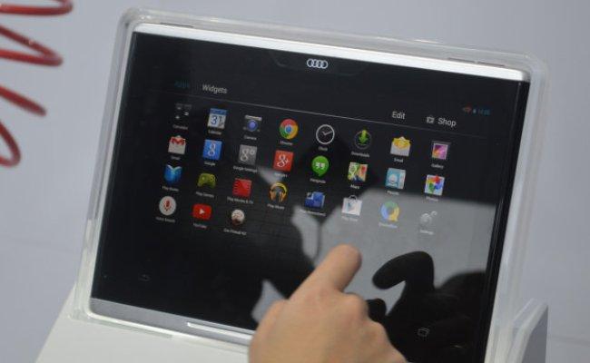 Audi smart tablet
