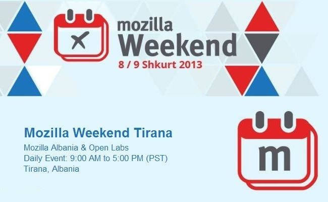 Mozilla Weekend Al