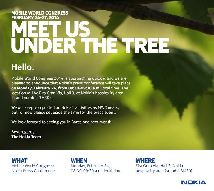 Nokia MWC Event