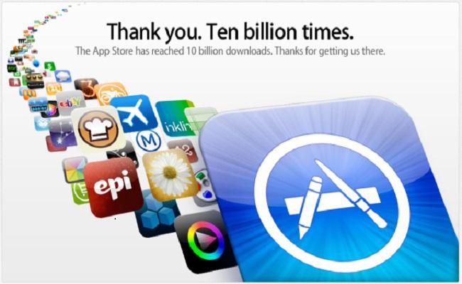 Apple fitoi 10 miliard $ nga Aplikacionet gjatë 2013