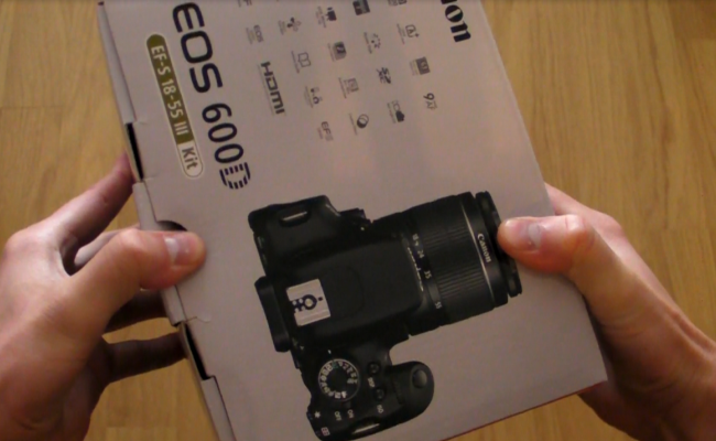 Video shpaketim: Canon EOS 600D
