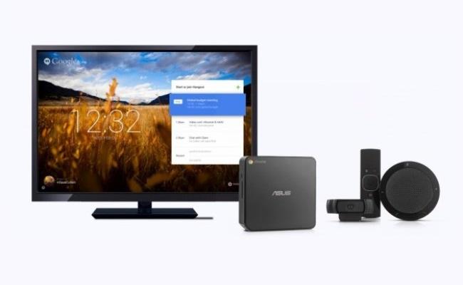 Google lanson pajisjen për telekonferencë Chromebox