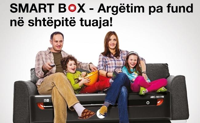 IPKO prezanton SmartBox resiverin me teknologjinë e fundit të TV digjital