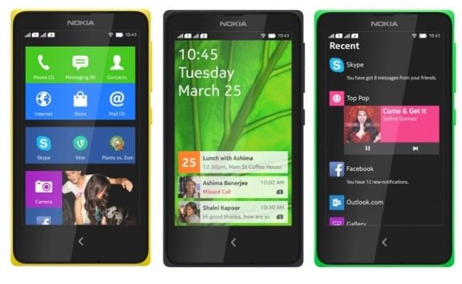 Nokia lanson tre smartphonet e parë Android