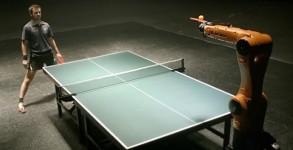 Ping-Pong-Champion-Takes-On-Kuka-Robot