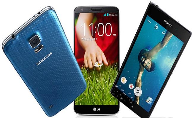 Krahasim: Samsung Galaxy S5 vs LG G2 vs Sony Xperia Z2