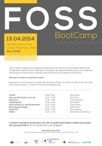 FOSS Boot Camp Peje posteri