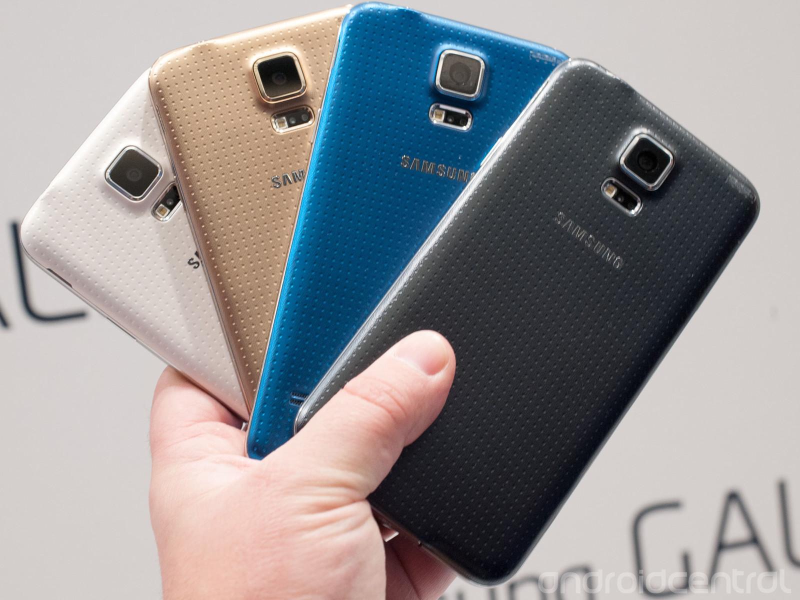 Foto Samsung Galaxy S5 nga çdo pozicion i mundshëm