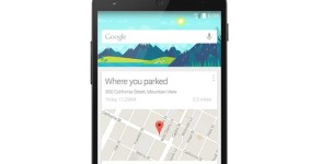 Google Now Where you parked