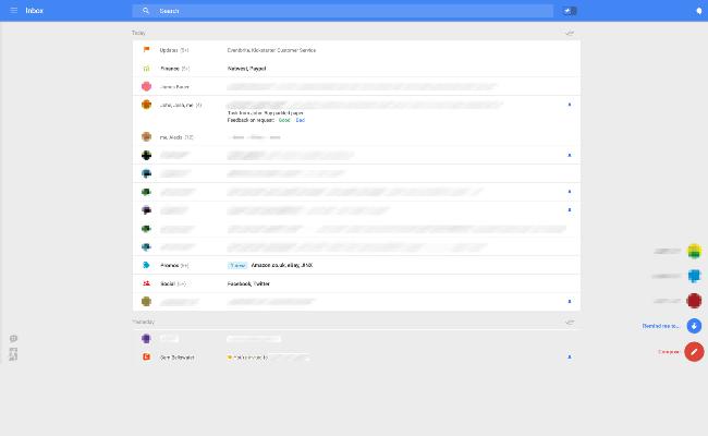 Google po teston një dizajn të ri të Gmail-it