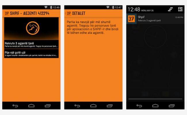 Aplikacioni SHPIF, vetëm për agjent