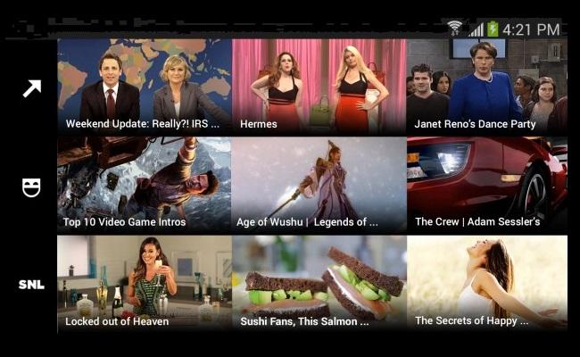 Lansohet aplikacioni Yahoo Screen për Android